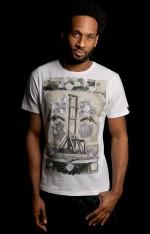 The Stranger • White <br/>Graphic T-shirt
