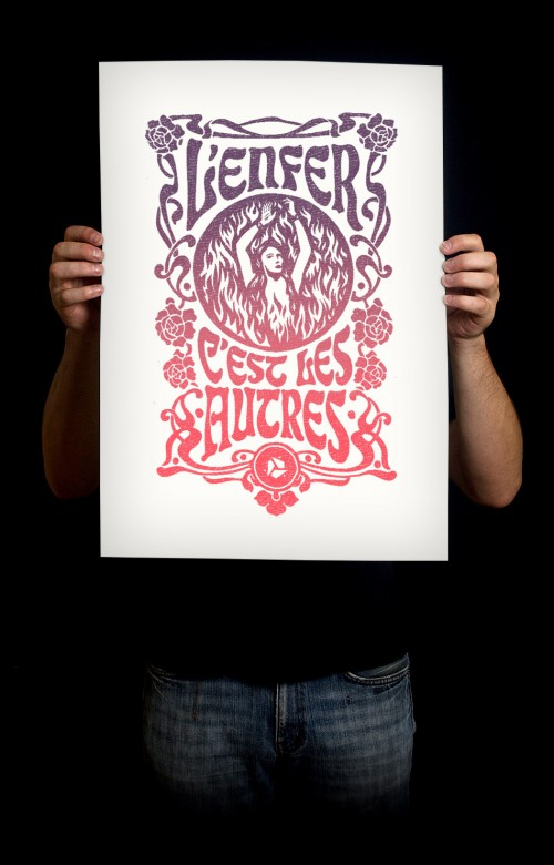 L'Enfer Art Print – The Affair